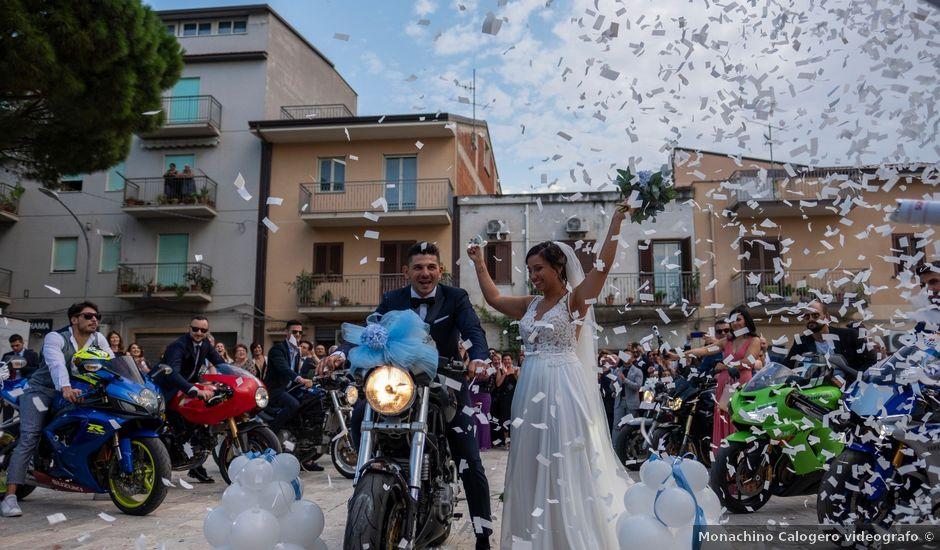 Il matrimonio di Vincenzo e Benedetta a Sant'Agata di Militello, Messina