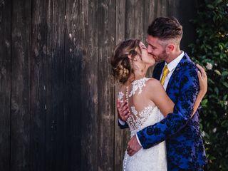 Le nozze di Francesca e Ross