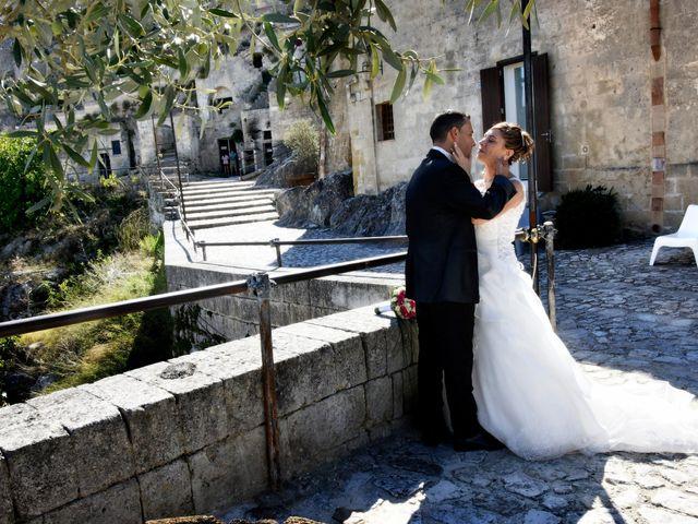 Il matrimonio di Vincenzo e Ronsangela a Matera, Matera 21