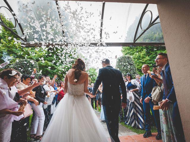 Il matrimonio di Mirko e Francesca a Cocconato, Asti 19