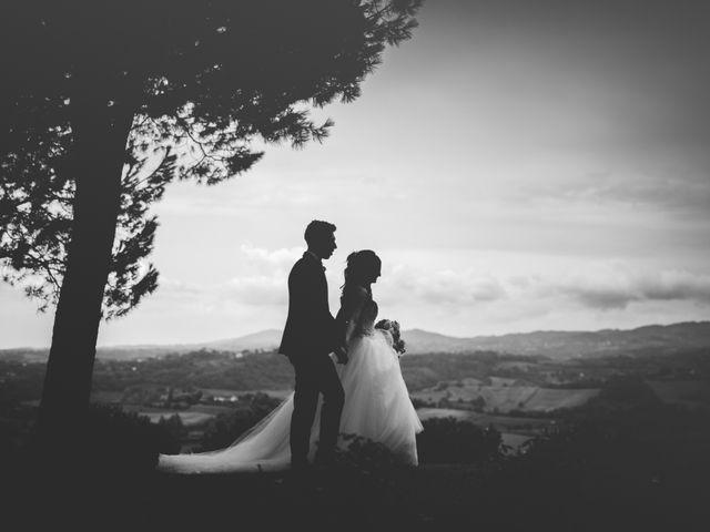 Il matrimonio di Mirko e Francesca a Cocconato, Asti 24