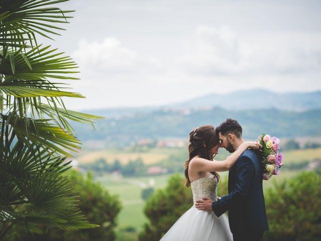 Il matrimonio di Mirko e Francesca a Cocconato, Asti 25