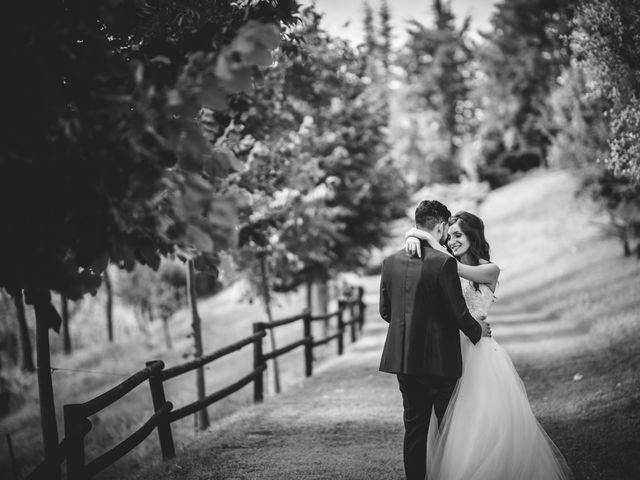 Il matrimonio di Mirko e Francesca a Cocconato, Asti 28