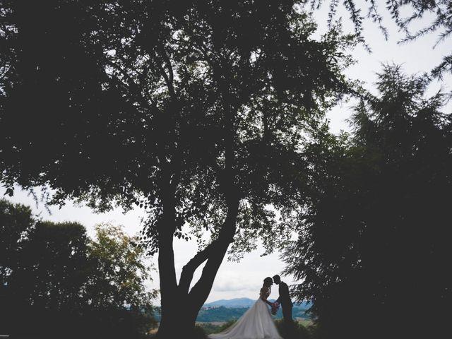 Il matrimonio di Mirko e Francesca a Cocconato, Asti 30