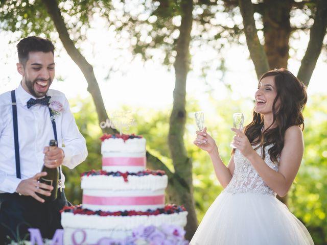 Il matrimonio di Mirko e Francesca a Cocconato, Asti 35