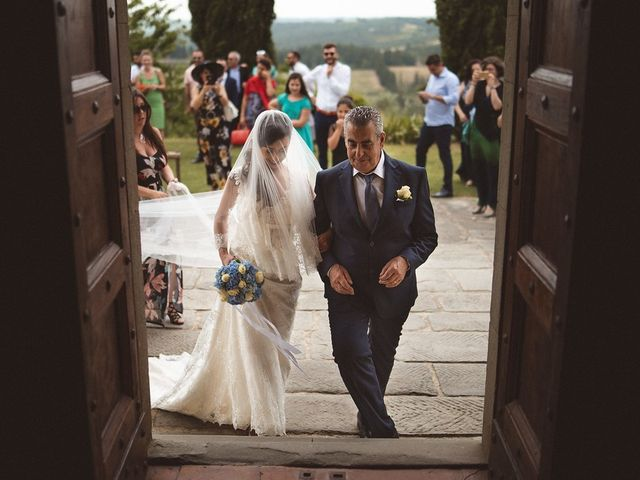 Il matrimonio di Matteo e Elisabetta a Impruneta, Firenze 27