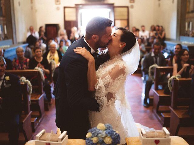Il matrimonio di Matteo e Elisabetta a Impruneta, Firenze 36