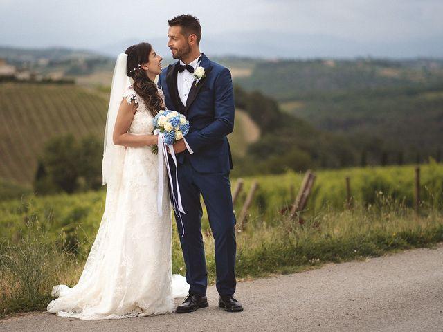 Il matrimonio di Matteo e Elisabetta a Impruneta, Firenze 41