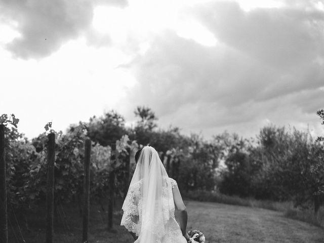 Il matrimonio di Matteo e Elisabetta a Impruneta, Firenze 45