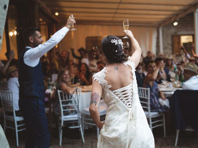 Il matrimonio di Matteo e Elisabetta a Impruneta, Firenze 58