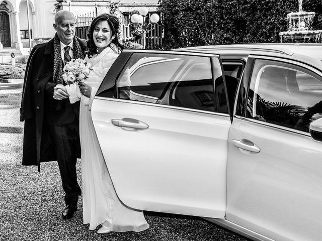 Le nozze di Giorgia e Luciano