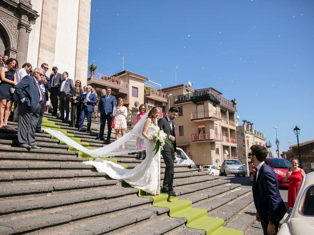 Il matrimonio di Pablo e Clara a Zafferana Etnea, Catania 29