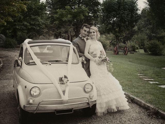 Il matrimonio di Luca e Eleonor a San Severino Marche, Macerata 2