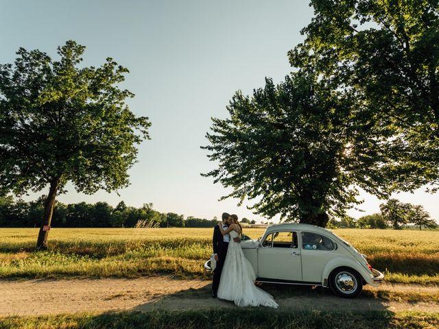 Il matrimonio di Michele e Nazarena a Grumello Cremonese ed Uniti, Cremona 9