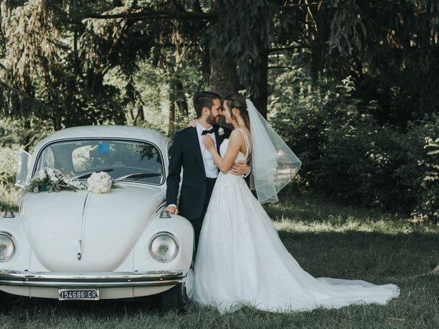 Il matrimonio di Michele e Nazarena a Grumello Cremonese ed Uniti, Cremona 18