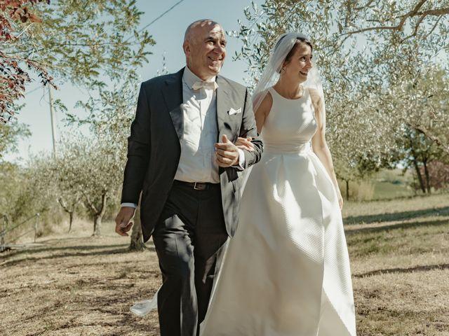 Il matrimonio di Francesco e Matilde a Saludecio, Rimini 29