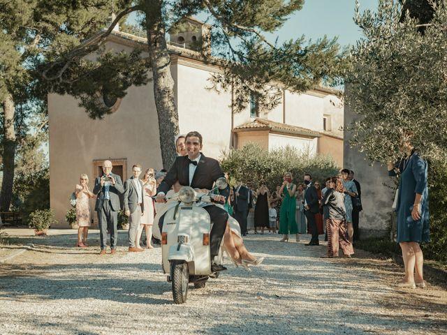 Il matrimonio di Francesco e Matilde a Saludecio, Rimini 49