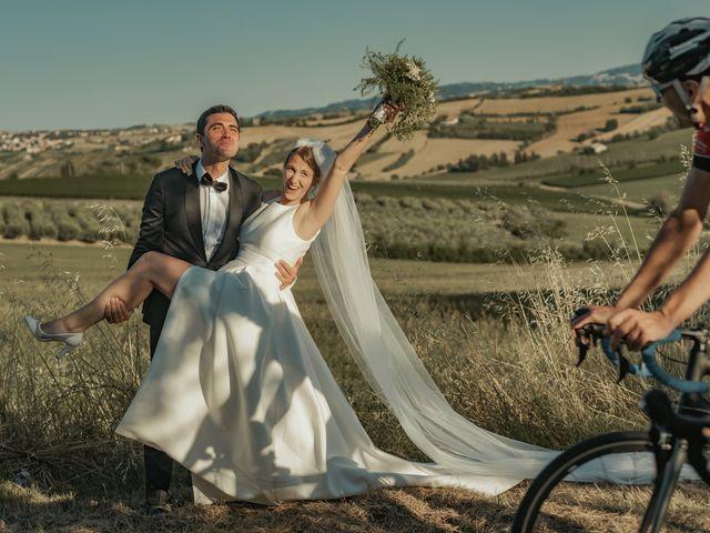 Il matrimonio di Francesco e Matilde a Saludecio, Rimini 53