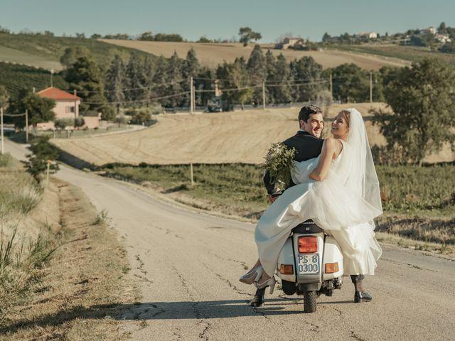 Il matrimonio di Francesco e Matilde a Saludecio, Rimini 55