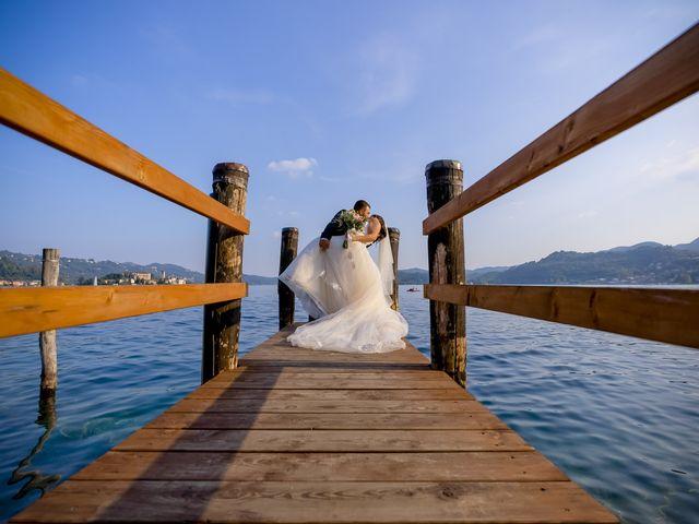 Il matrimonio di Johnny e Giulia a Soriso, Novara 1