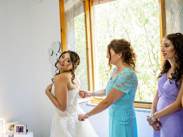 Il matrimonio di Johnny e Giulia a Soriso, Novara 19