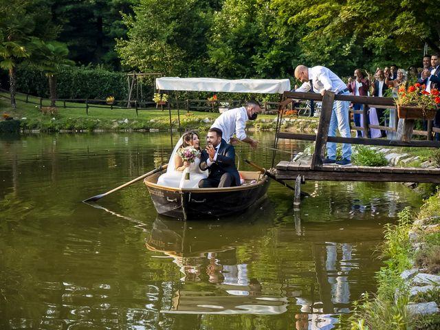 Il matrimonio di Johnny e Giulia a Soriso, Novara 25