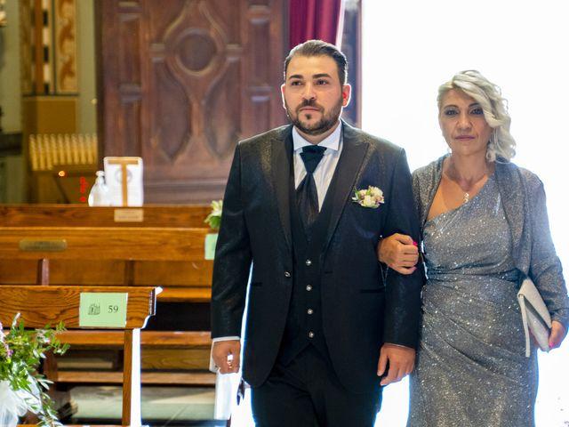 Il matrimonio di Johnny e Giulia a Soriso, Novara 61