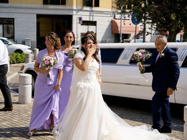 Il matrimonio di Johnny e Giulia a Soriso, Novara 64