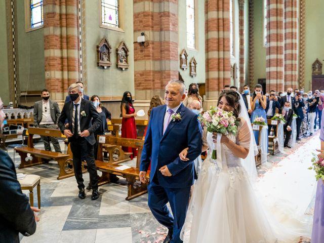 Il matrimonio di Johnny e Giulia a Soriso, Novara 65