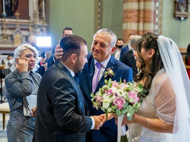 Il matrimonio di Johnny e Giulia a Soriso, Novara 66