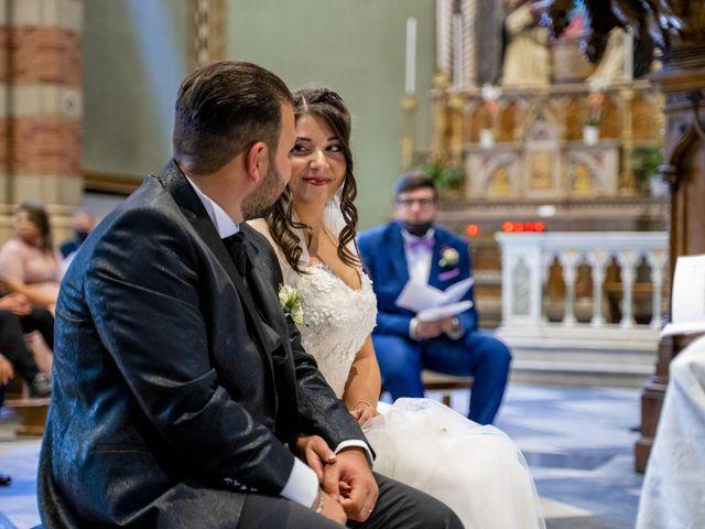 Il matrimonio di Johnny e Giulia a Soriso, Novara 69