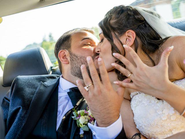 Il matrimonio di Johnny e Giulia a Soriso, Novara 74