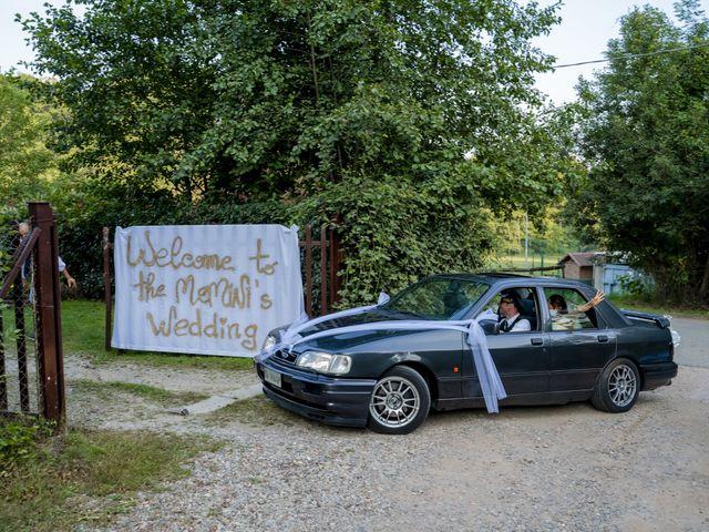 Il matrimonio di Johnny e Giulia a Soriso, Novara 77