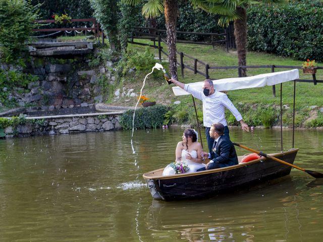 Il matrimonio di Johnny e Giulia a Soriso, Novara 80