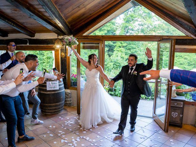Il matrimonio di Johnny e Giulia a Soriso, Novara 82