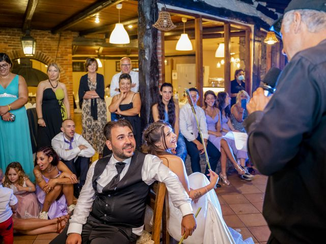 Il matrimonio di Johnny e Giulia a Soriso, Novara 96
