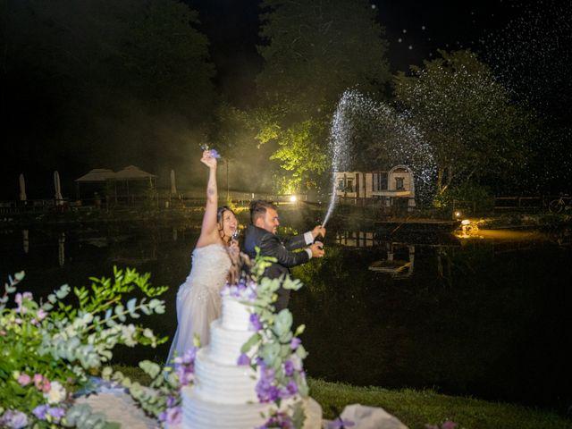 Il matrimonio di Johnny e Giulia a Soriso, Novara 100