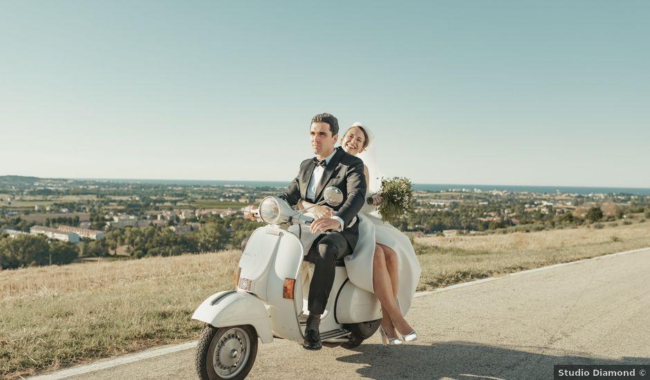 Il matrimonio di Francesco e Matilde a Saludecio, Rimini