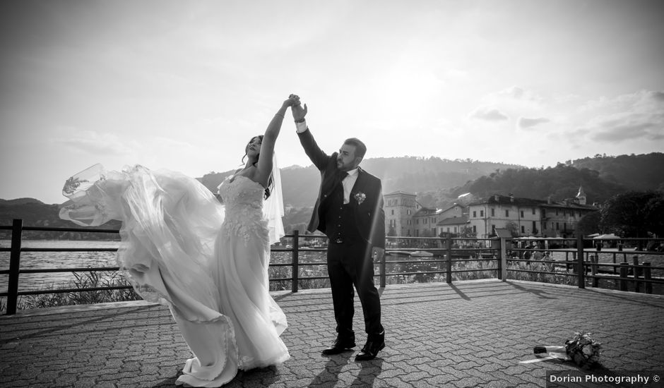 Il matrimonio di Johnny e Giulia a Soriso, Novara