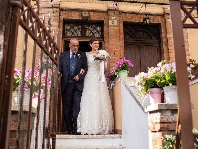 Il matrimonio di Fabio e Fiammetta a Grottaferrata, Roma 24