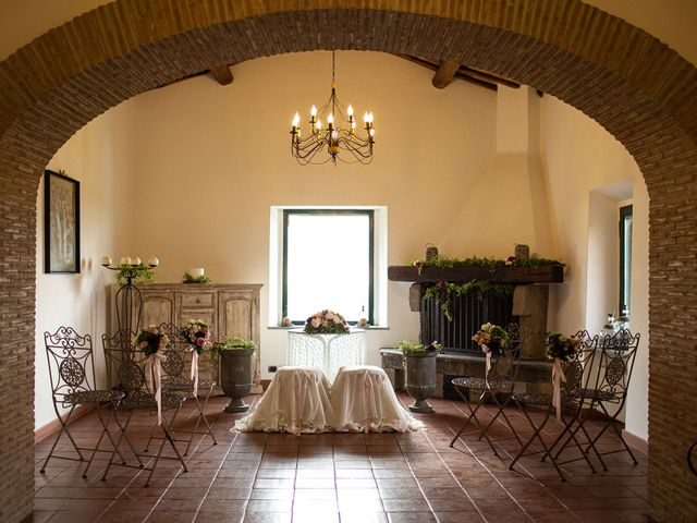 Il matrimonio di Fabio e Fiammetta a Grottaferrata, Roma 27