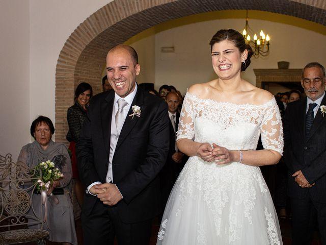 Il matrimonio di Fabio e Fiammetta a Grottaferrata, Roma 31