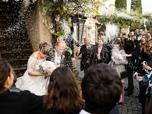 Il matrimonio di Fabio e Fiammetta a Grottaferrata, Roma 32