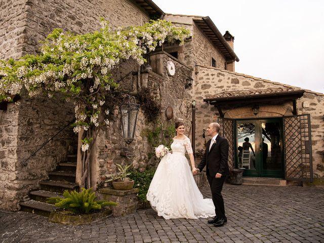 Il matrimonio di Fabio e Fiammetta a Grottaferrata, Roma 34