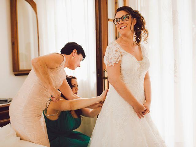Il matrimonio di Mirco e Valentina a Nervesa della Battaglia, Treviso 4