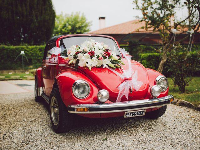 Il matrimonio di Mirco e Valentina a Nervesa della Battaglia, Treviso 9