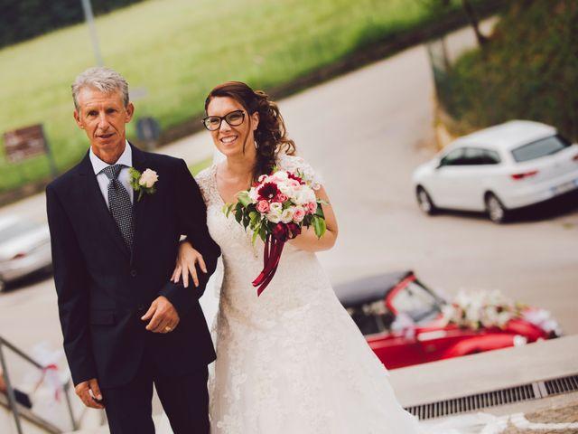 Il matrimonio di Mirco e Valentina a Nervesa della Battaglia, Treviso 11