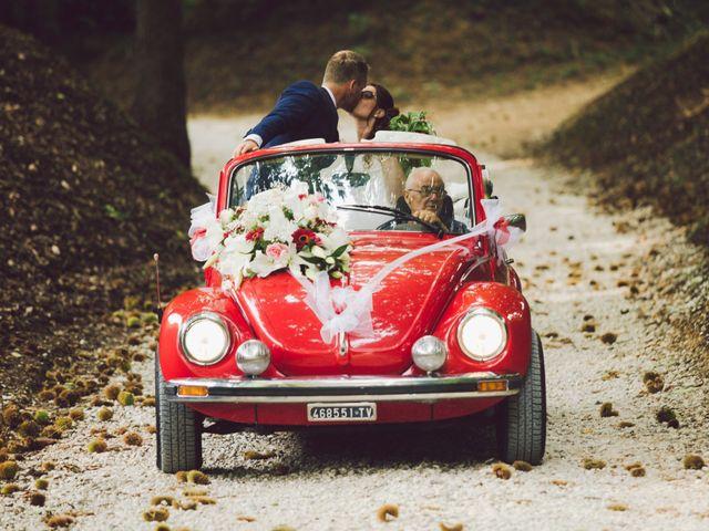 Il matrimonio di Mirco e Valentina a Nervesa della Battaglia, Treviso 15