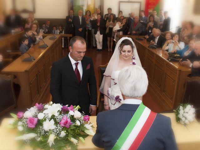 Il matrimonio di Claudio e Paola a Valmontone, Roma 7