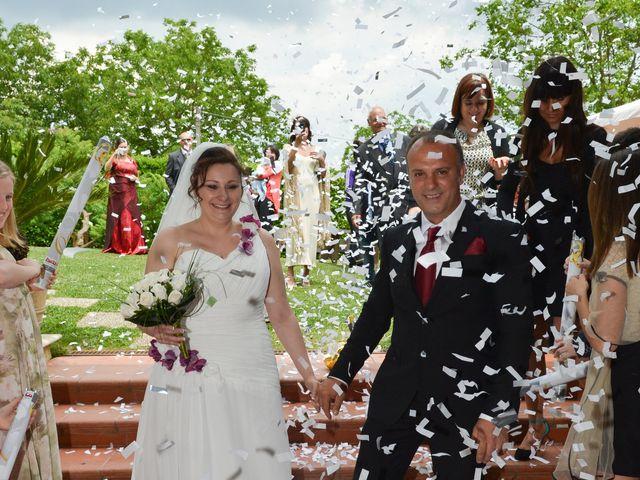 Il matrimonio di Claudio e Paola a Valmontone, Roma 18